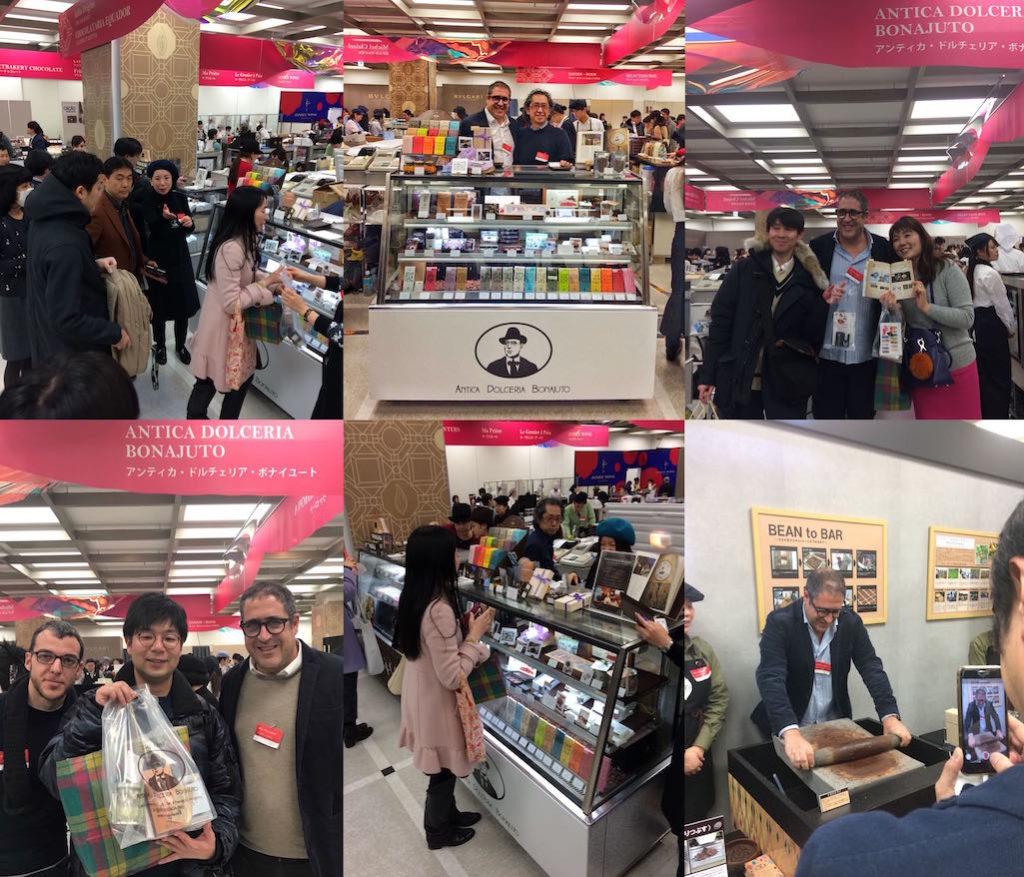 Bonajuto a Tokyo - Salon du Chocolat